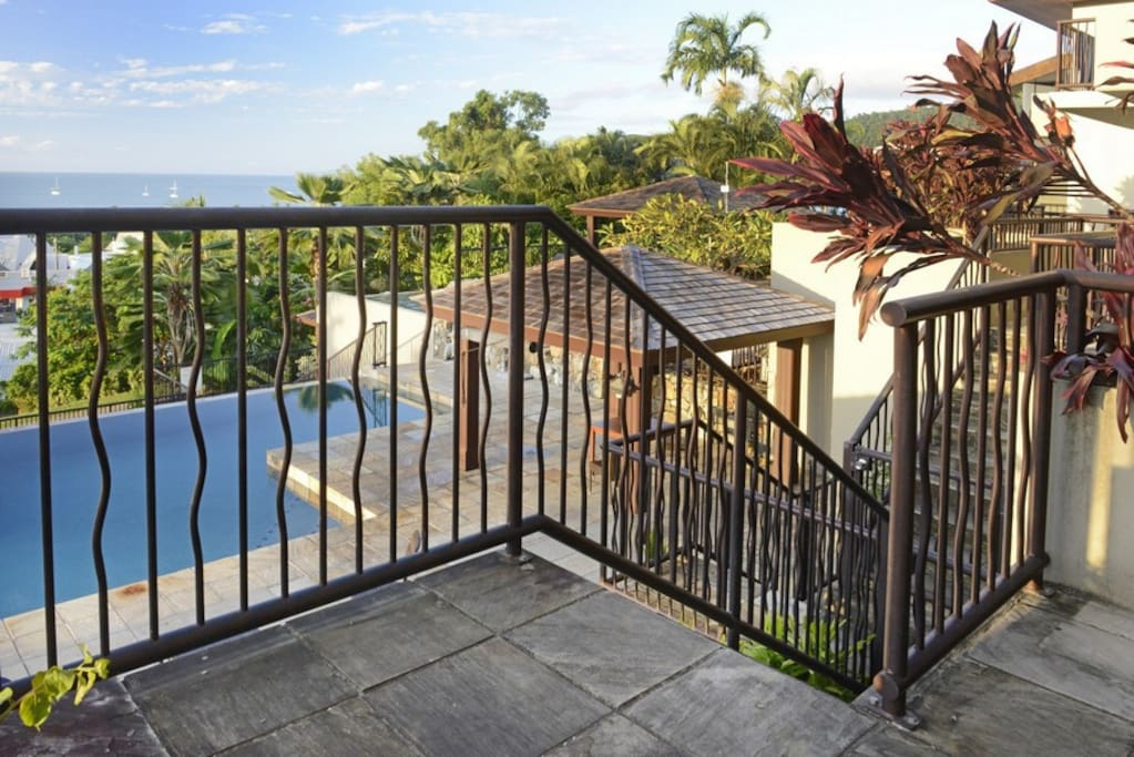Access Stairs to Pool