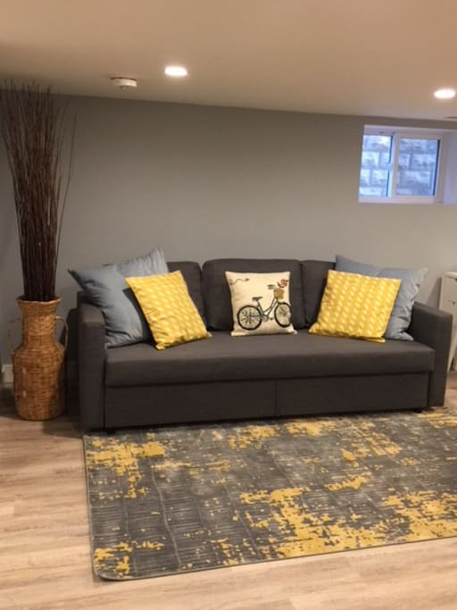Newly Appointed Comfortable Living Room