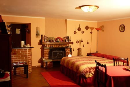 Cozy room, beautiful country house - Villar Pellice - Maison