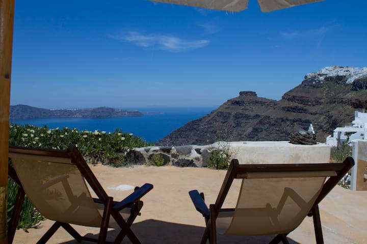 """Envision"" studio, breathtaking sea views!!! - Thira - Dom"