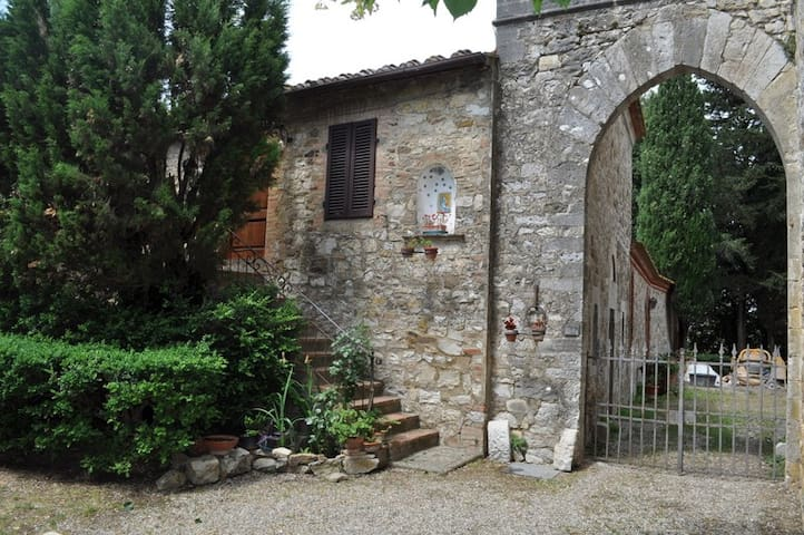 The real Tuscany house in Siena  - castellina in chianti - House