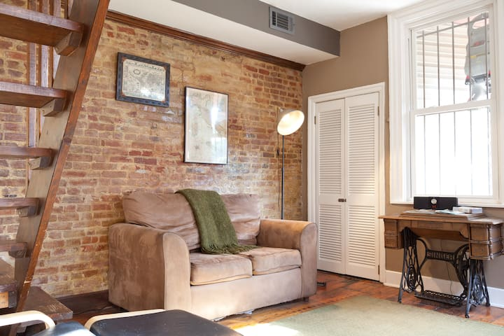Cozy 1 BR Apt in Historic District - Pittsburgh - Departamento