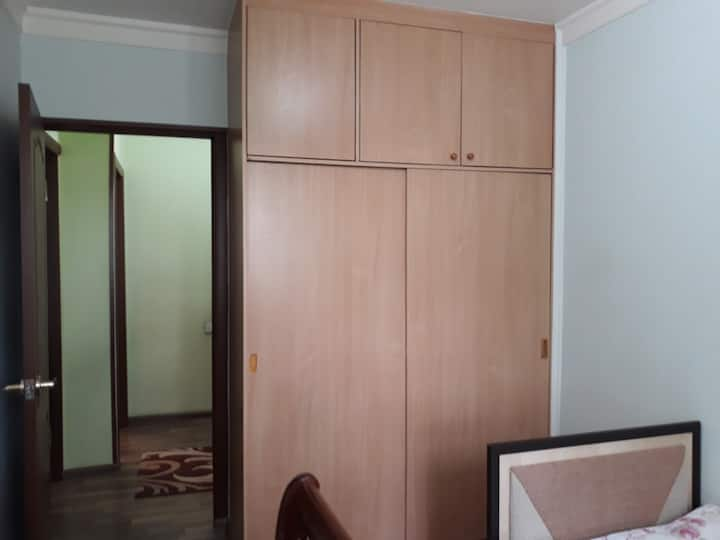 3rooms for rent in the centre of  Tashkent city. 3