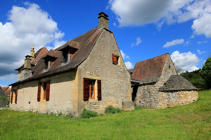 Charming old house, heart of nature - Les Eyzies-de-Tayac-Sireuil - Huis