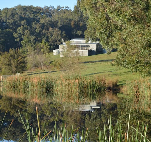 Koonwarra Lake house retreat - Koonwarra - Casa
