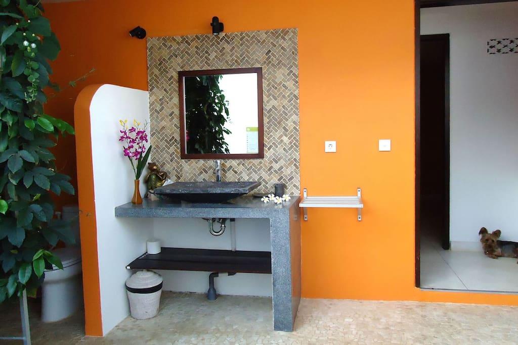 bathroom confort room