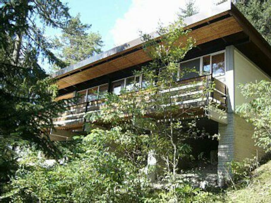 Chalet a corte vicino a cortina dolomiti chalet in for Affitto chalet cortina