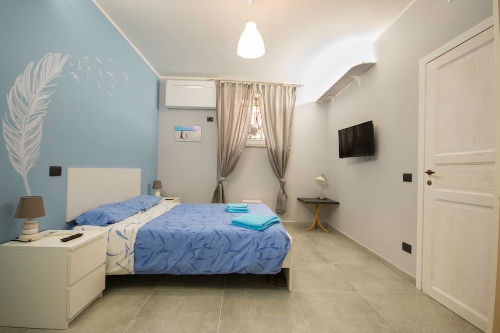 the room is spacious and comfortable, equipped with all comforts