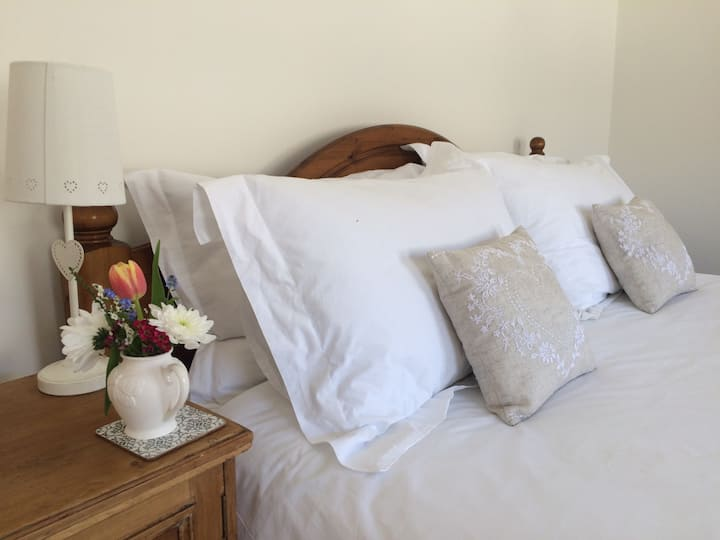 Large guest suite with private entrance