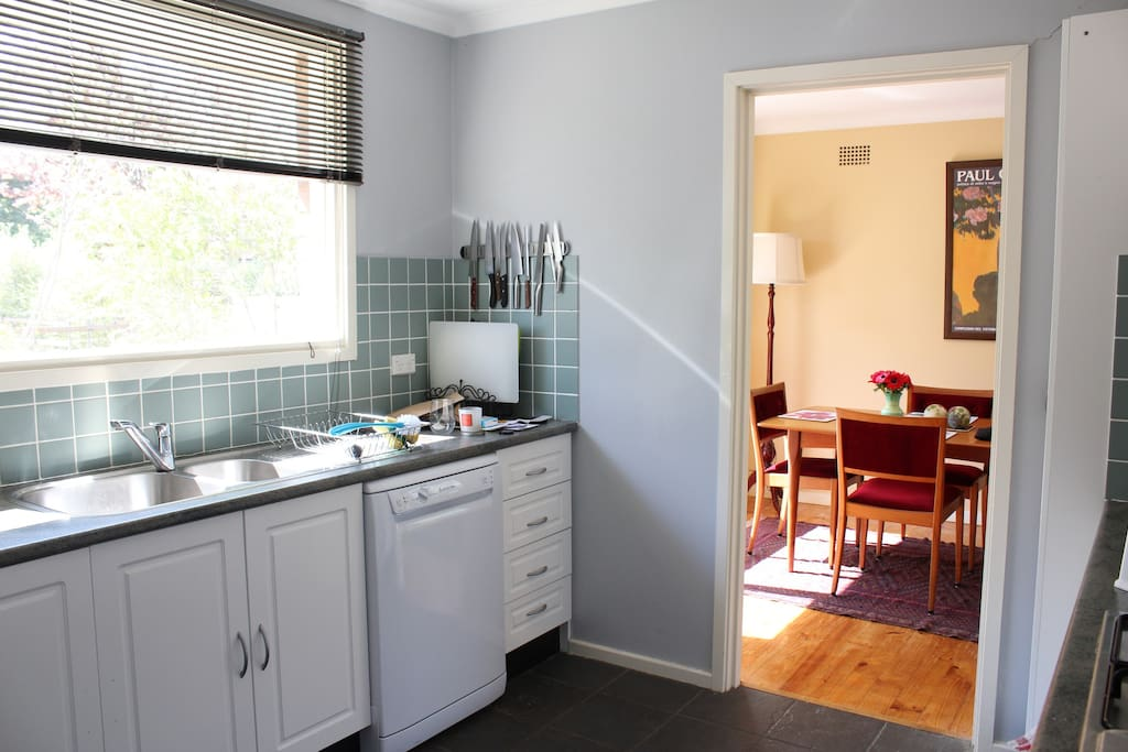 Lots of natural light in all rooms.