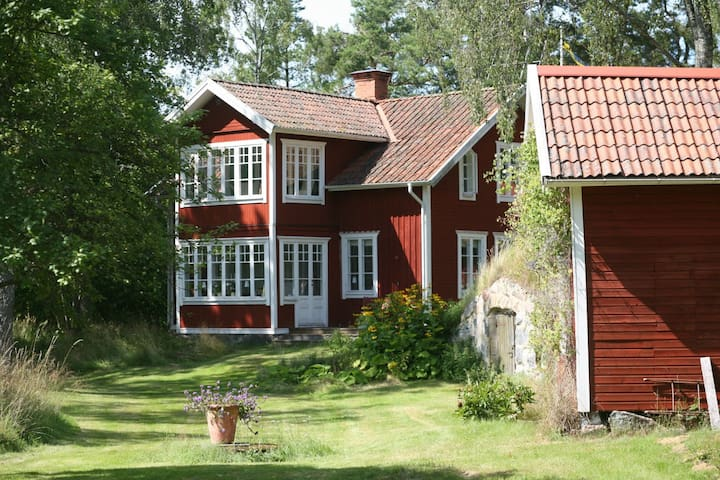 Beautful house in the Archipelago