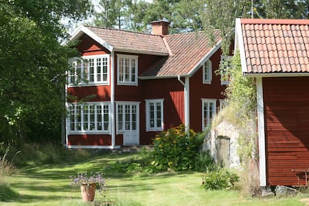 Beautful house in the Archipelago - Blidö - 独立屋