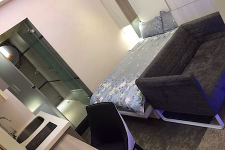 西門町時尚精緻小套房      (單人加大床) - Lägenhet