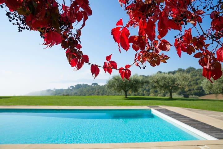 NEW amazing VILLA near Todi - Canonica - Casa de camp
