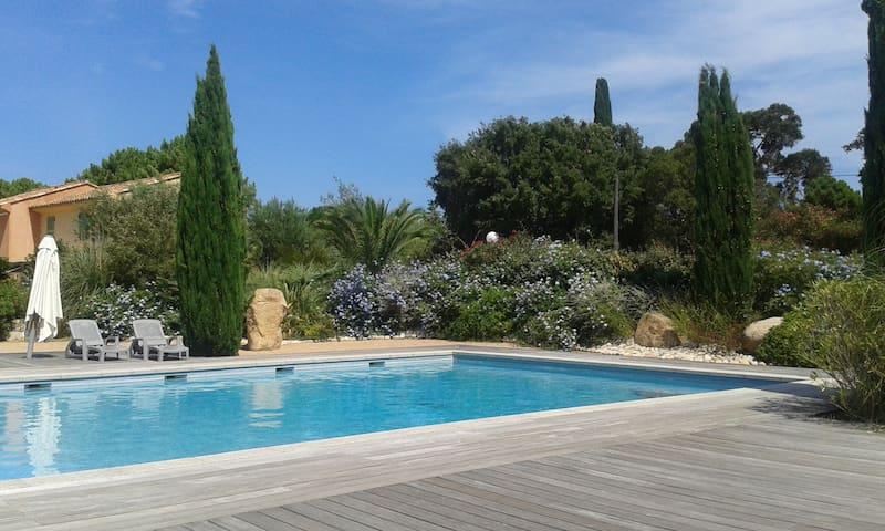 Elegant villa in Corsica - Lecci