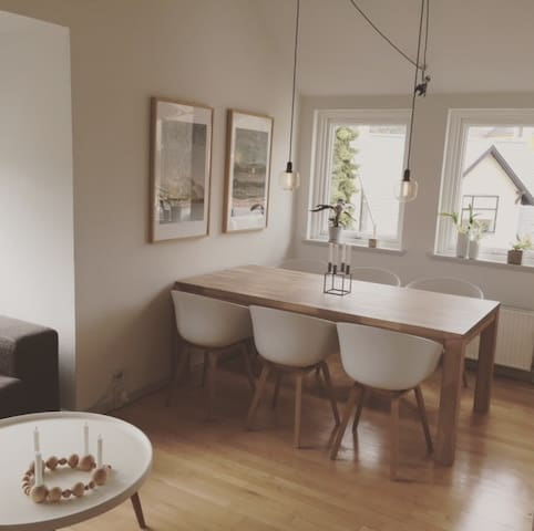 Cozy apartment just opposite ZOO, 10 min to Centre - Frederiksberg - Appartement