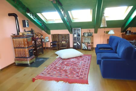 LIGHT ATTIC IN CHIERI CENTER (TO) - Chieri - Flat