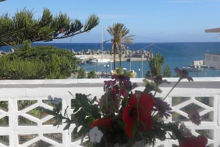Apartment on the beach in Milatos Crete - Paralia Milatou