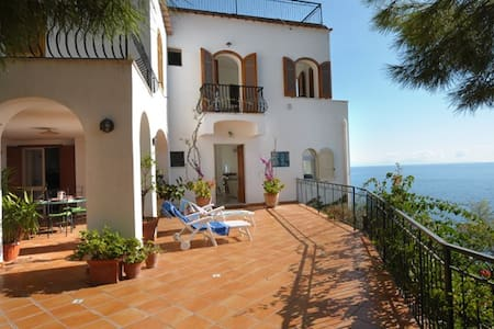 Villa Gisa on the rock - Praiano
