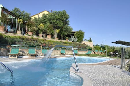 Luxury Villa in Marche countryside POOL free wine - Acquaviva Picena - Vila