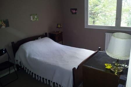 chambre en RDC vue sur forêt  - Vaulx-Milieu - Apartment