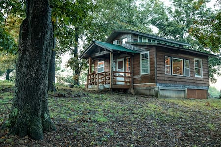 Ozark Cabin near Fayetteville-views - West Fork