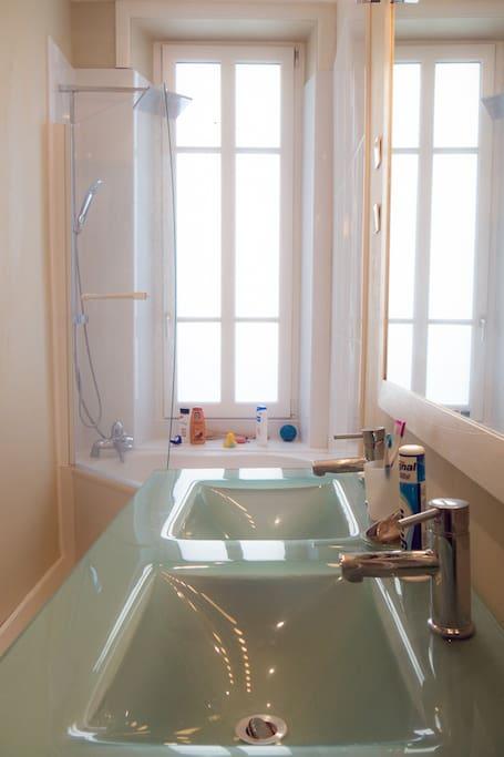 une salle de bain de rrêve