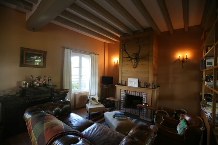 Chambre d'hôte au haras- BOISERIES - Salbris - Bed & Breakfast