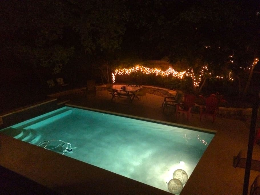 Twinkly night lights