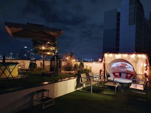 2019Sale#Hongdae penthouse# Niceview&area#3min sub