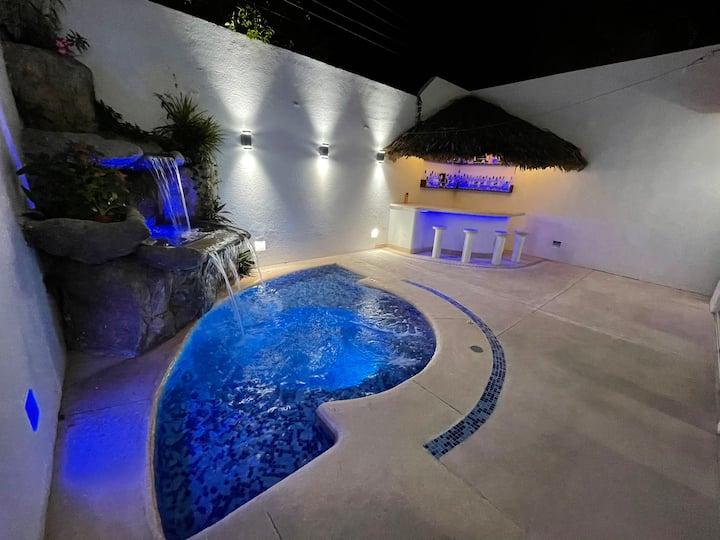 Villa Azul, excelente villa para descansar.