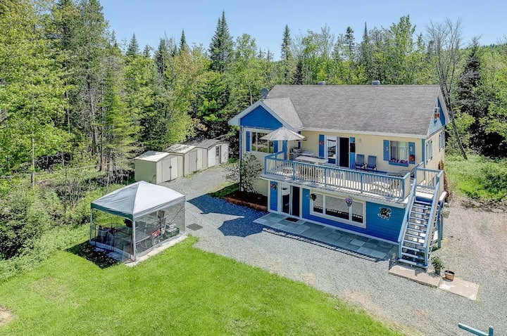 Private Chalet in Saint-Adolphe-D'Howard