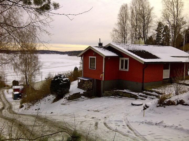 Lakeview house near Gothenburg