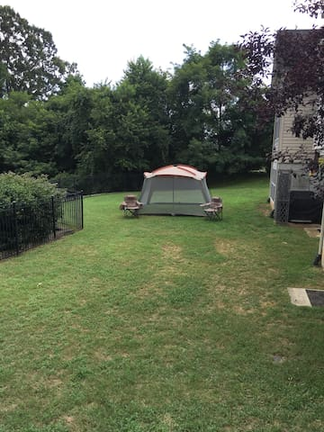 Camping with Benefits Site 1 - La Plata - Tent