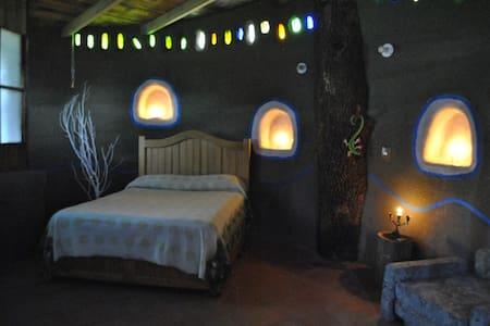 """Casa de Barro ,Choza """"Caracol"""" - Teotihuacán de Arista"""
