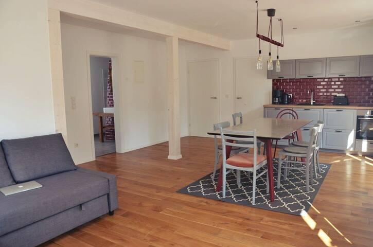 Erdgeschoss - Wohnküche