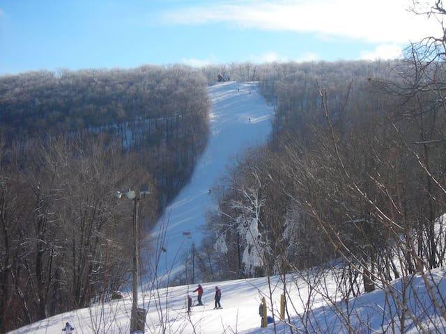 Blue Knob Skiing