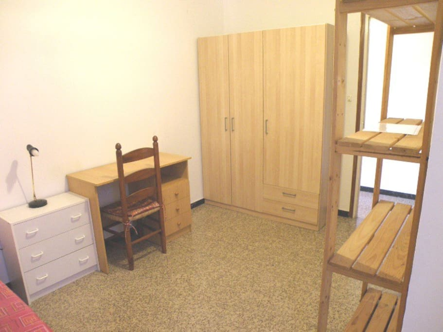 The same bedroom from the opposite angle.