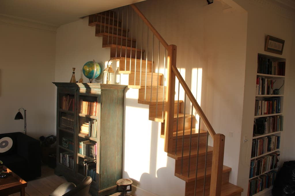 Inside Staircase to second floor