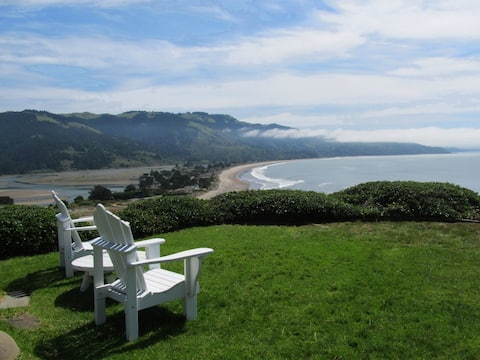 Bolinas Blue Ocean Bluff Home