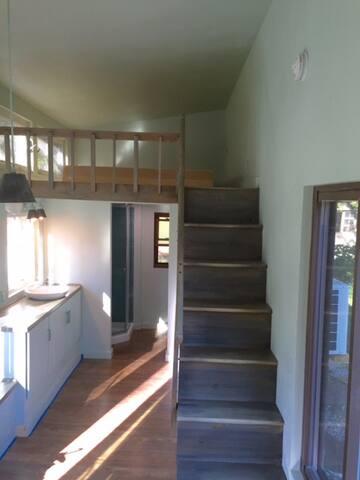 Kitchen and Loft area.