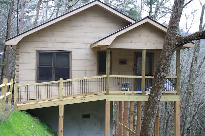 Bear Look Out cabin on Rich Mountain Cherry Log GA