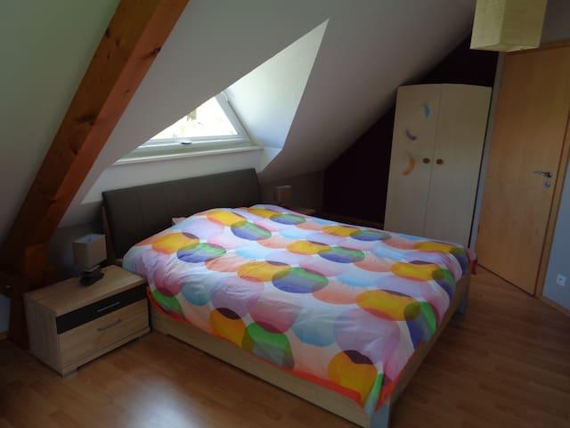 2 belles chambres dans maison moderne - Mietesheim - Hus