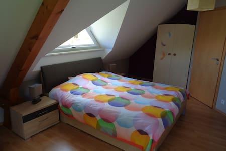 2 belles chambres dans maison moderne - Mietesheim - Dom