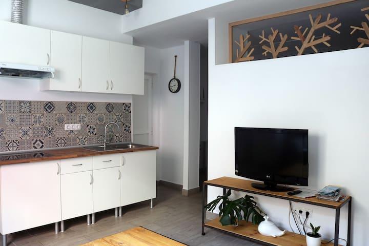 Apartamento independiente pegado a Las Canteras