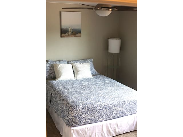 Private Bedroom In Newly Renovated Home, Queen Bed