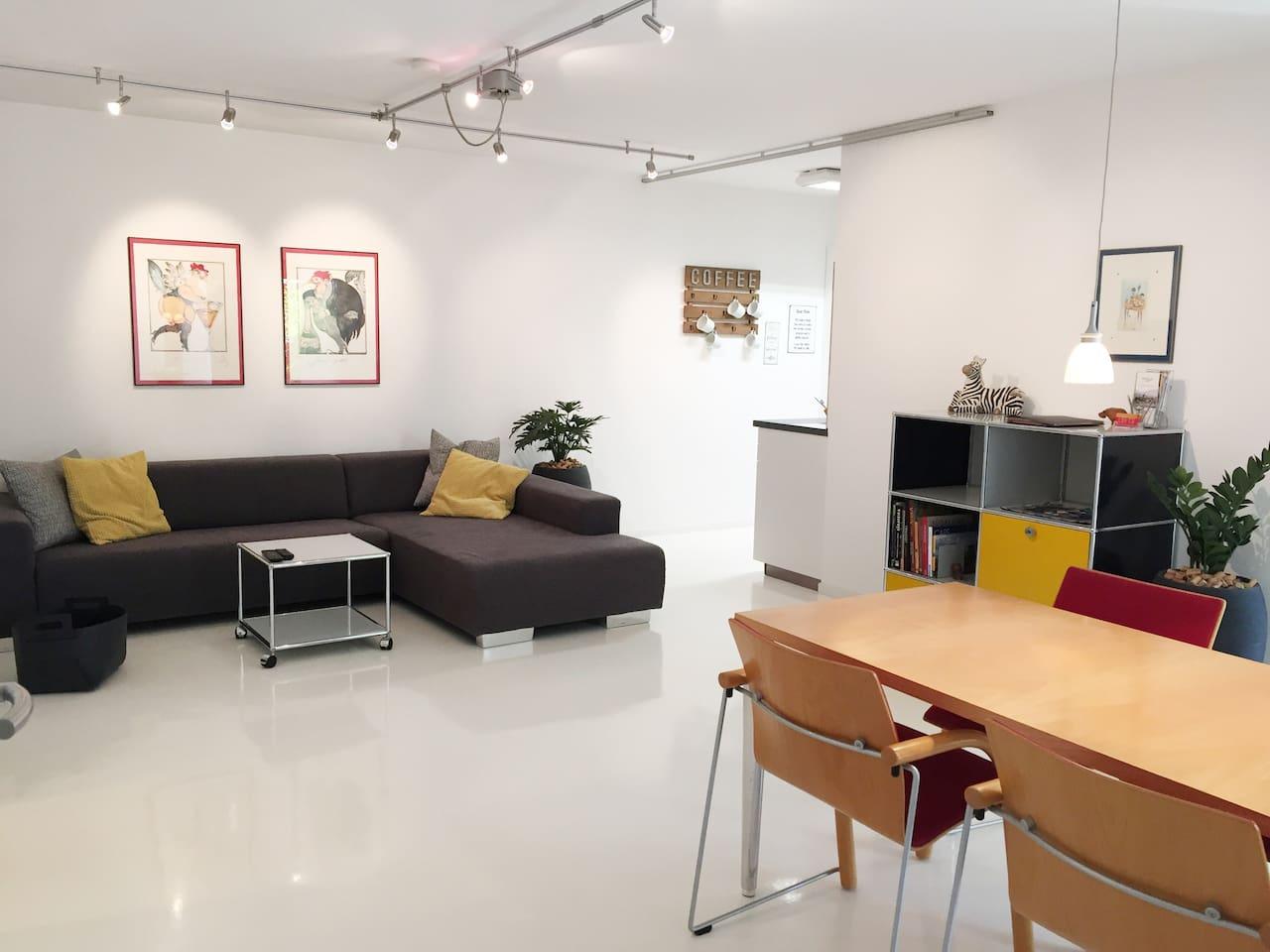 Wohn-Esszimmer Loft 2