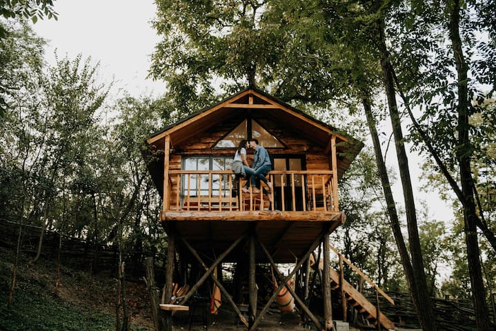 Transylvania Loft Treehouse  ★ Self Check-In★