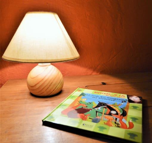 "Bedroom ""Les Loupiots"""