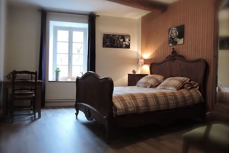 Le Rébenty-B&B Chambre ROCOCO - Axat - Bed & Breakfast